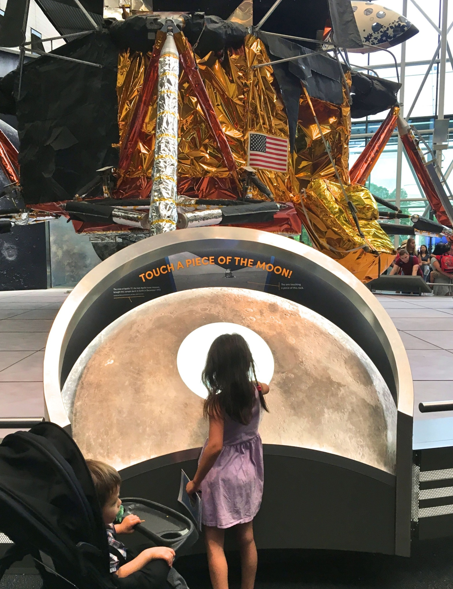 Air and Space Museum, Washington DC with kids