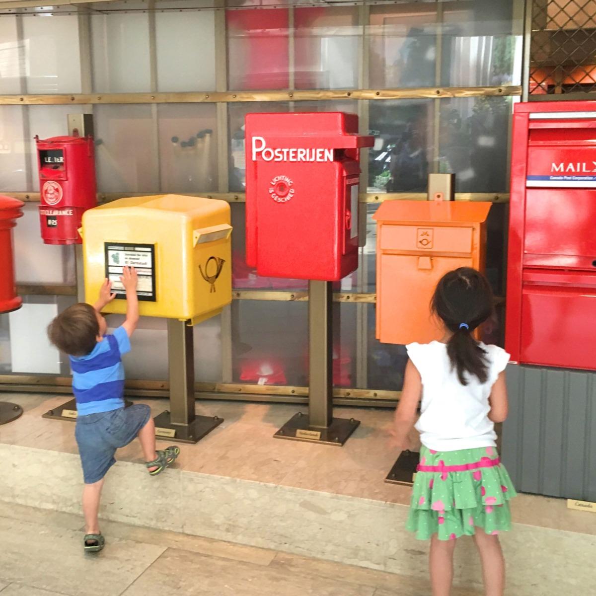 Postal Museum, Washington DC with kids